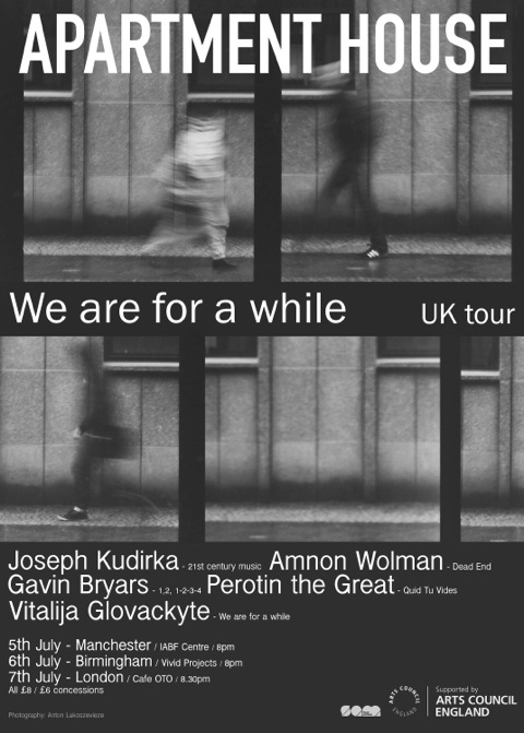 We are for a while poster